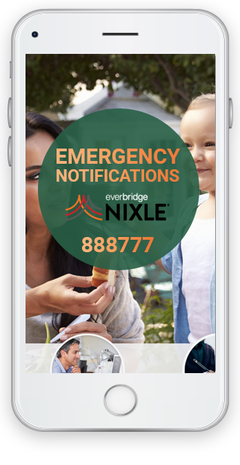 Emergency Notifications everbridge nixle 888777